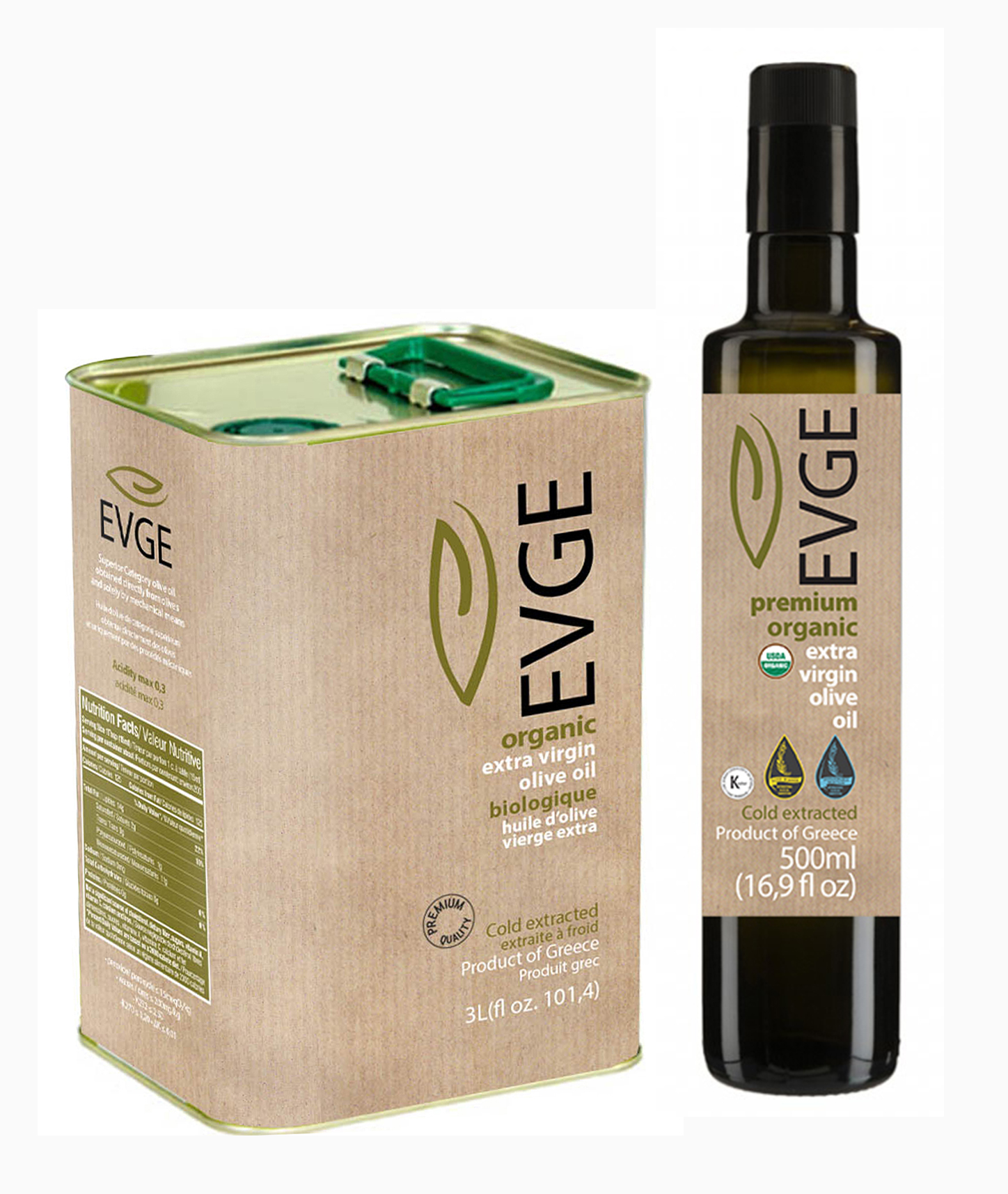 EVGE BIO EXTRA VIRGIN OLIVE OIL