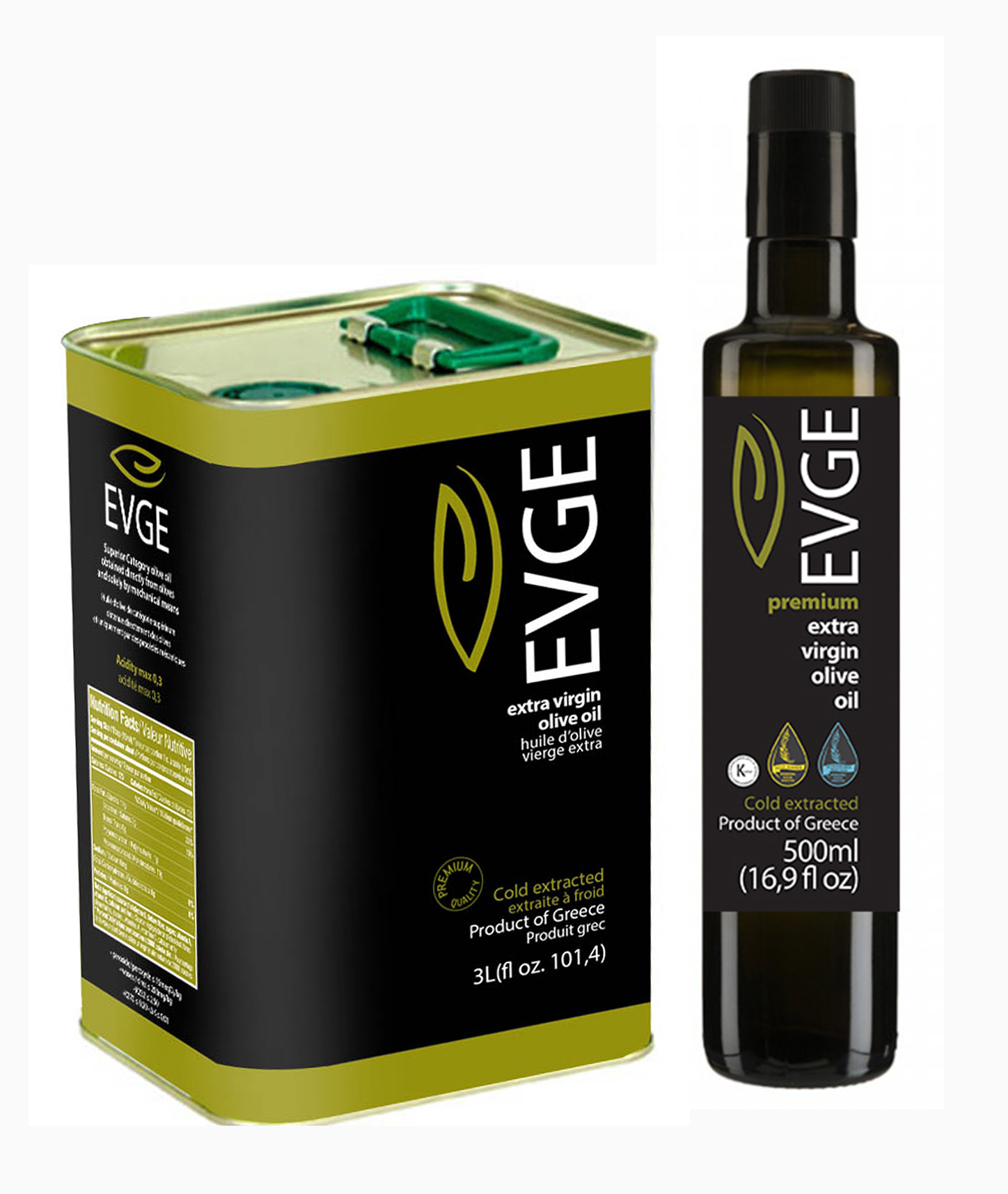 EVGE EXTRA VIRGIN OLIVE OIL