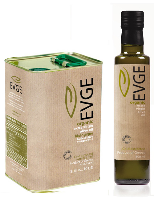 Evge organic extra virgin olive oil
